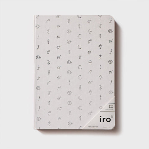 White Iro Notebook (A5)