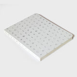 "White Iro Notebook (7x9"")"