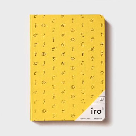 Yellow Iro Notebook (A5)
