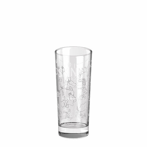 skinnybrands half pint glass