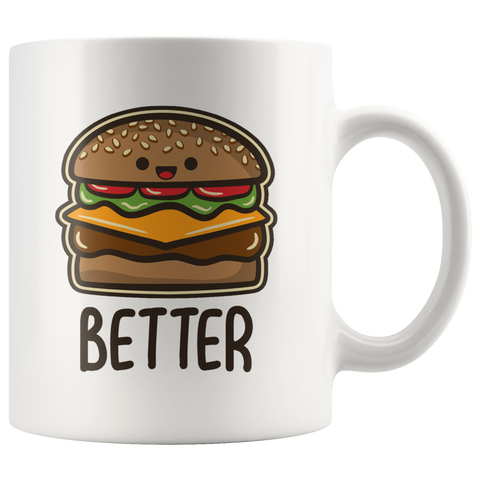 Burger and Fries Mugs