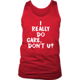 I Really Do Care Tank Top