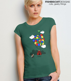 1 Up Princess Mario T-Shirt