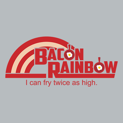 Bacon Rainbow T-Shirt