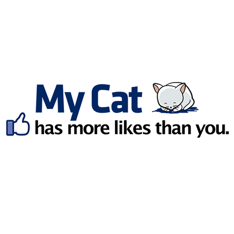 Catbook Facebook T-Shirt