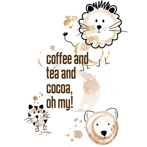 Coffee and Tea and Cocoa T-shirt