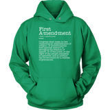 First Amendment Hoodie