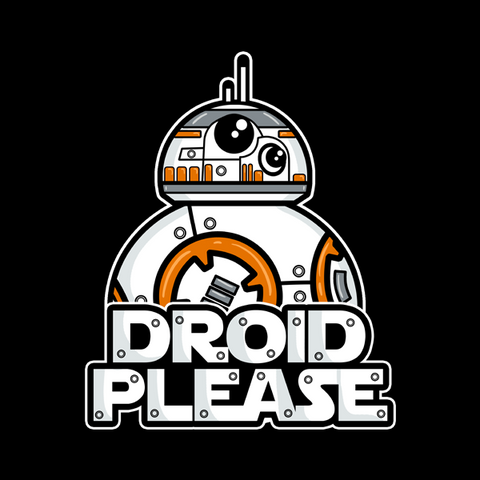 Droid Please T-Shirt