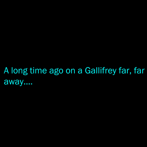 A Gallifrey Far, Far Away T-Shirt