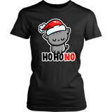 Ho Ho No Christmas Cat Shirt