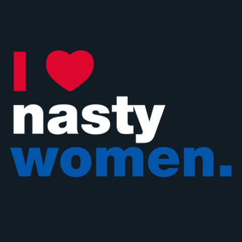 I Heart Nasty Women T-Shirt