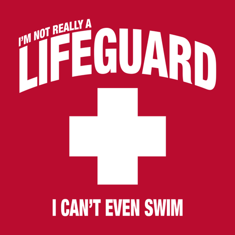Lifeguard Costume T-Shirt