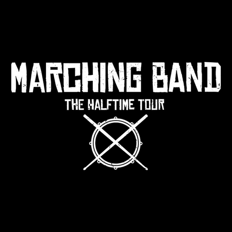Marching Band Fake Rock Band T-Shirt