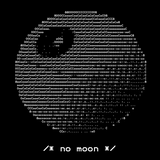 That's No Moon ASCII Art T-Shirt