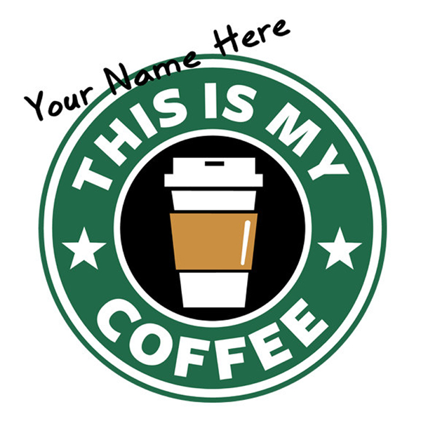 PERSONALIZED Starbucks Coffee T Shirt