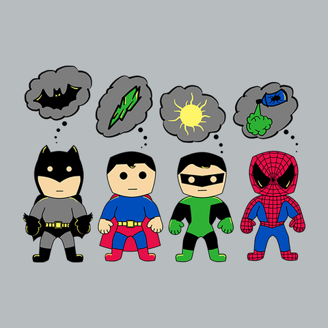 Even Superheroes Have Phobias T-Shirt