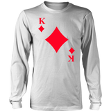 King of Diamonds Card T-Shirt