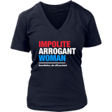 Impolite Arrogant Woman