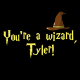 Wizard Sorting Hat T-Shirt PERSONALIZED W/YOUR NAME