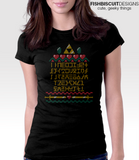 ABC of Time Ugly Sweater T-Shirt