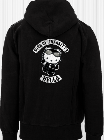 Sons of Anarkitty Hoodie Two Sided PERSONALIZED