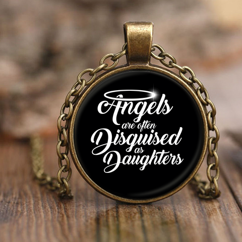 Angels are Daughters Necklace