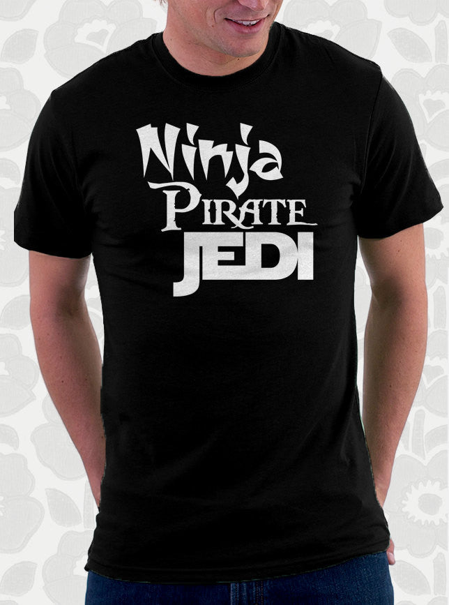 Ninja Pirate Jedi T-Shirt
