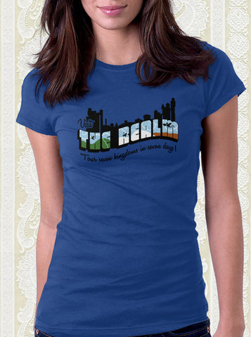 Greetings from the Realm T-Shirt