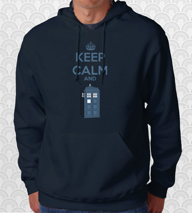 Keep Calm and Time Travel Hoodie