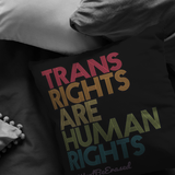 Trans Rights Pillow