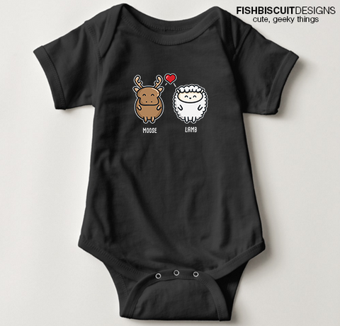 Moose Lamb Baby Clothing