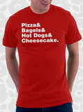 New York Foods Helvetica T-Shirt
