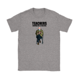 Bernie Mittens Teacher Vaccine Shirt