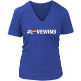 Love Wins T-Shirt (white text)