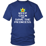Keep Calm and Save the Princess T-Shirt