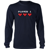 Player 1 Couples T-Shirt