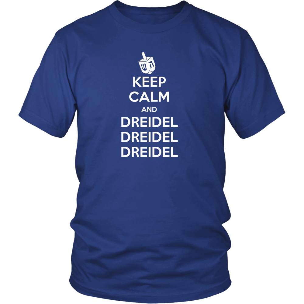 Keep Calm and Dreidel T-Shirt