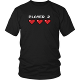 Player 2 Couples T-Shirt