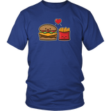 Burger and Fries T-Shirt