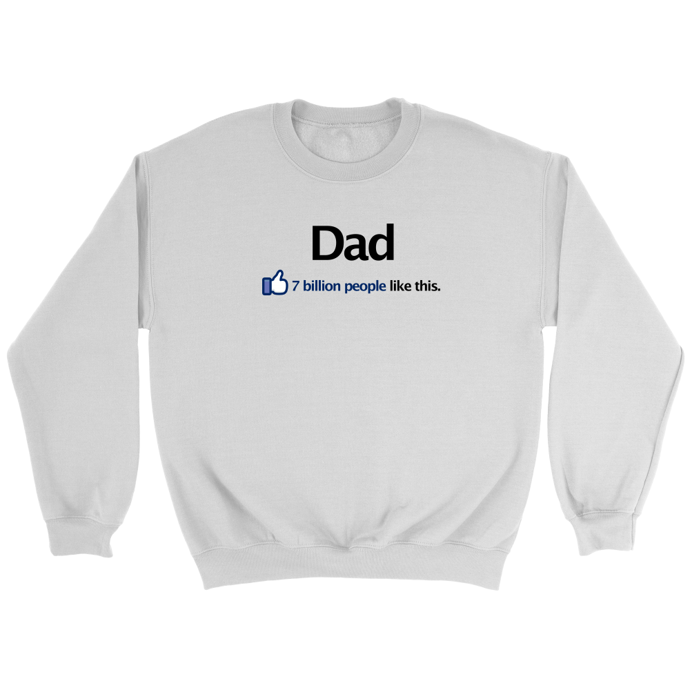 I Like Dad Facebook T-Shirt