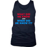 What Did The President Know T-Shirt