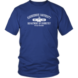 Respect the Chemistry T-Shirt (white ink)