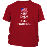 Keep Calm and Keep Fighting T-Shirt
