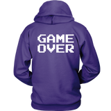 Player 1 Groom Two Sided Hoodie