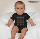 Taco Holiday Sweater Onesie