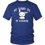 Bunny Ate My Homework T-Shirt