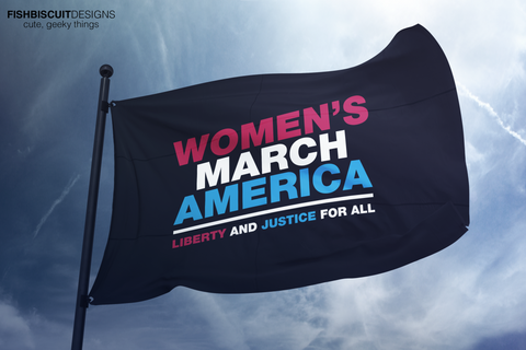 Women's March Flag
