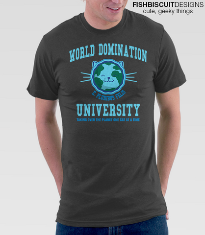 World Domination University T Shirt