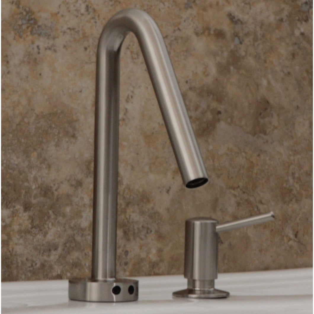 FA400-1400S Electronic Hands Free Faucet with Manual Soap Dispenser