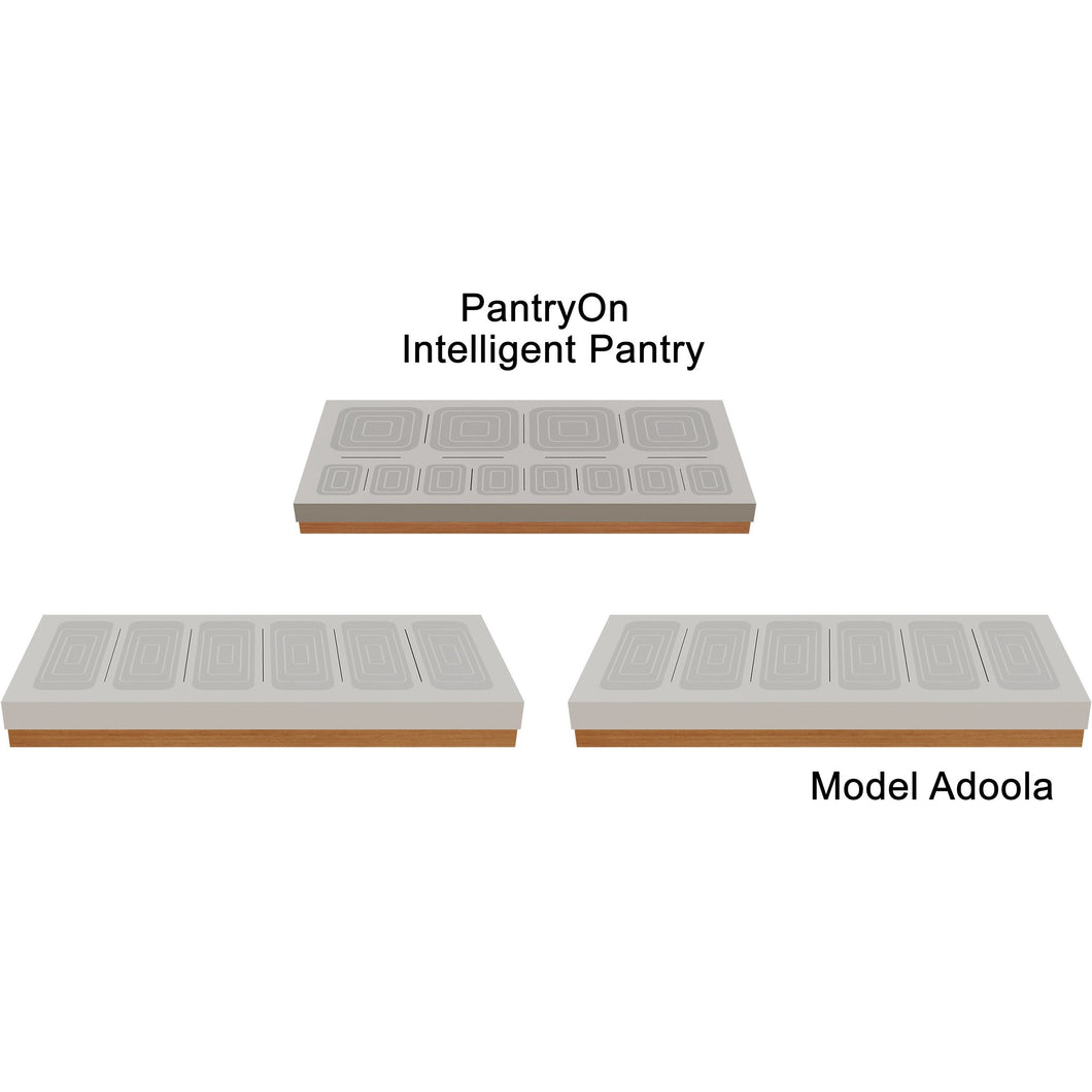 Intelligent Pantry Appliance. Adoola Suite. 24 Items managed
